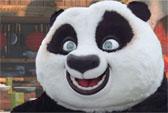 Kung Fu Experience, meet Po from Kung Fu Panda 2